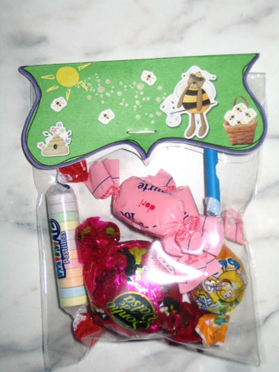Embalagem para doce